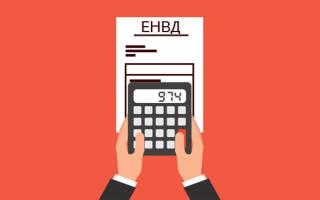 Как платить ЕНВД ИП без работников?