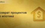 Выплата процентов по ипотеке государством как выплачивается