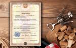Лицензия на крепкий алкоголь для ООО