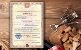 Лицензия на крепкий алкоголь для ИП