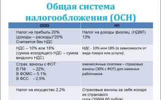 ОСНО система налогообложения для ИП