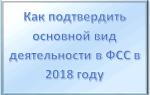Подтверждение вида деятельности в ФСС 2018 ИП