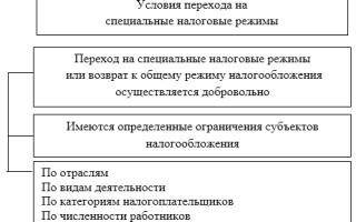 Оптимизация налогообложения при применении специальных налоговых режимов