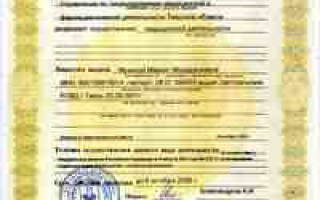 Лицензия врача в России